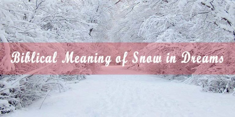 Biblical Meaning of Snow in Dreams & Interpretation