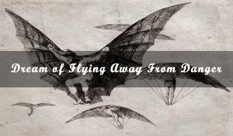 13 Dream of Flying Away From Danger - Meaning & Interpretation