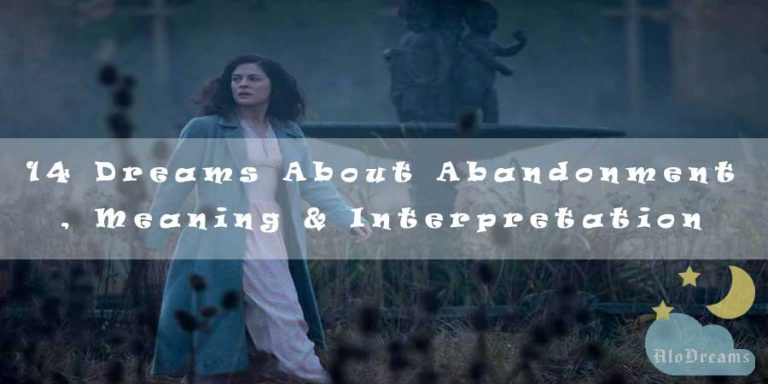 14 Dreams About Abandonment , Meaning & Interpretation