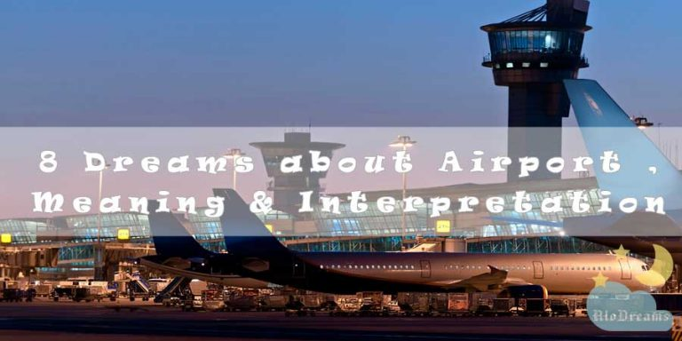 8 Dreams about Airport , Meaning & Interpretation