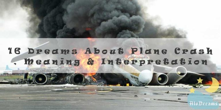 16 Dreams About Plane Crash , Meaning & Interpretation
