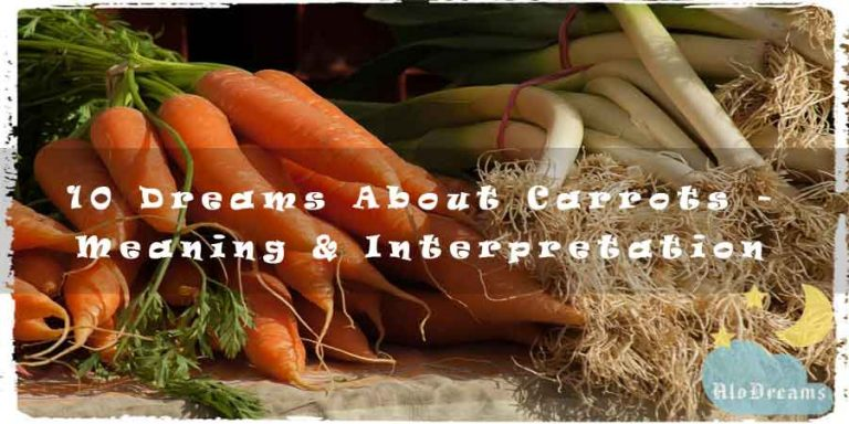 10 Dreams About Carrots - Meaning & Interpretation