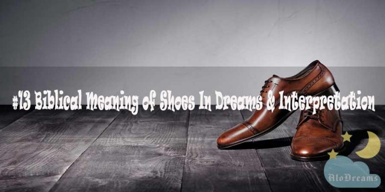 #13 Biblical Meaning of Shoes In Dreams & Interpretation