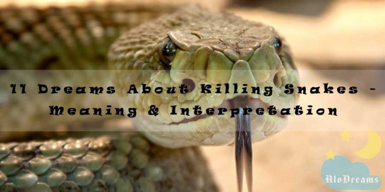 11 Dreams About Killing Snakes - Meaning & Interpretation