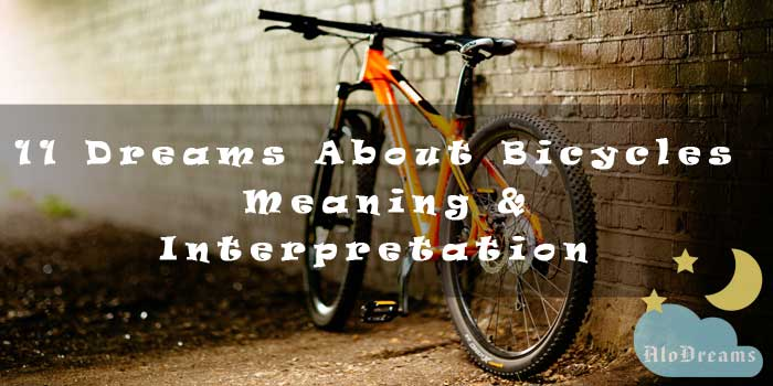 11 Dreams About Bicycles , Meaning & Interpretation