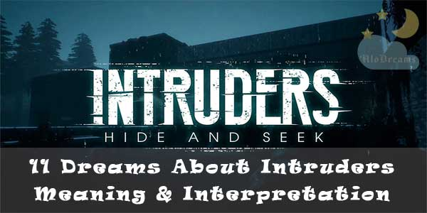 11 Dreams About Intruders - Meaning & Interpretation