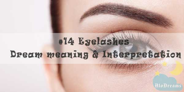 #14 Eyelashes - Dream meaning & Interpretation