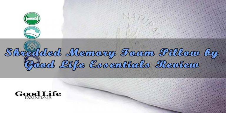 #3 Shredded Memory Foam Pillow by Good Life Essentials – 2019 Review