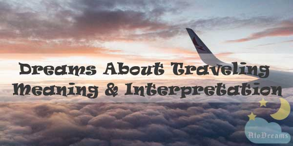 12 Dreams About Traveling : Meaning & Interpretation