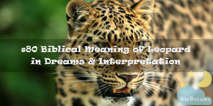 #80 Biblical Meaning of Leopard in Dreams & Interpretation