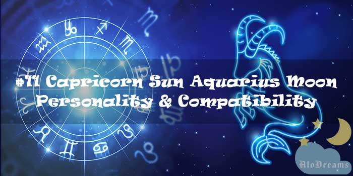 #11 Capricorn Sun Aquarius Moon – Personality & Compatibility