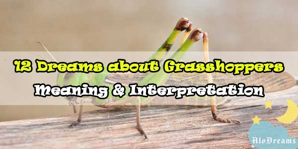 12 Dreams about Grasshoppers : Meaning & Interpretation