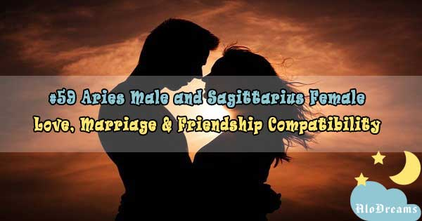 #59 Aries Male and Sagittarius Female - Love, Marriage & Friendship Compatibility