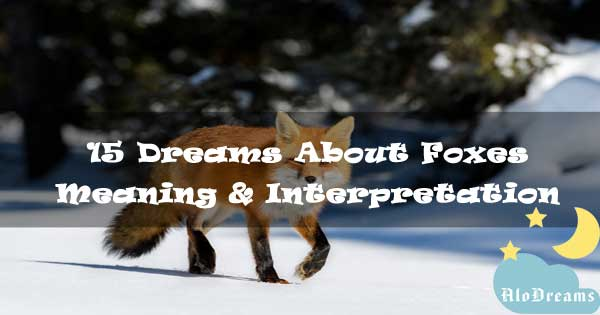 15 Dreams About Foxes : Meaning & Interpretation