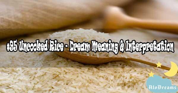 #95 Uncooked Rice - Dream Meaning & Interpretation