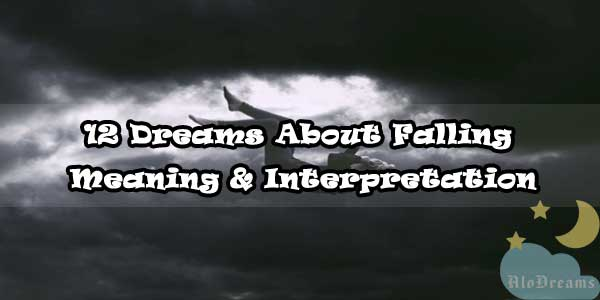 12 Dreams About Falling , Meaning & Interpretation