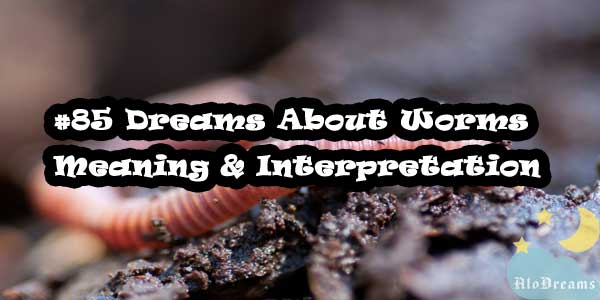 #85 Dreams About Worms : Meaning & Interpretation