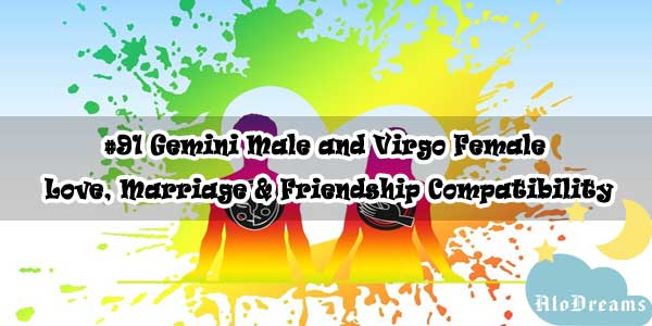 #91 Gemini Male and Virgo Female - Love, Marriage & Friendship Compatibility