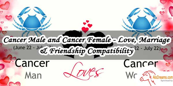 Cancer Male and Cancer Female - Love, Marriage & Friendship Compatibility
