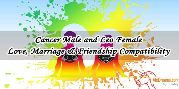 #35 Cancer Male and Leo Female - Love, Marriage & Friendship Compatibility