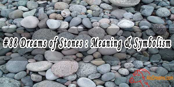 #88 Dreams of Stones : Meaning & Symbolism
