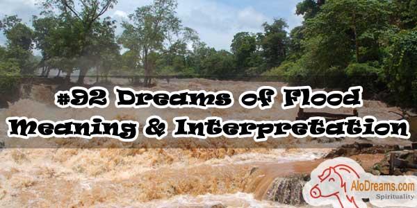 #92 Dreams of Flood , Meaning & Interpretation