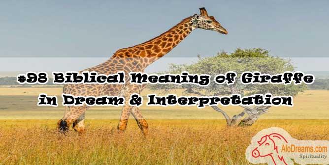 #98 Biblical Meaning of Giraffe in Dream & Interpretation