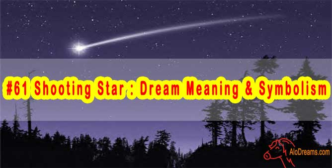 #61 Shooting Star : Dream Meaning & Symbolism